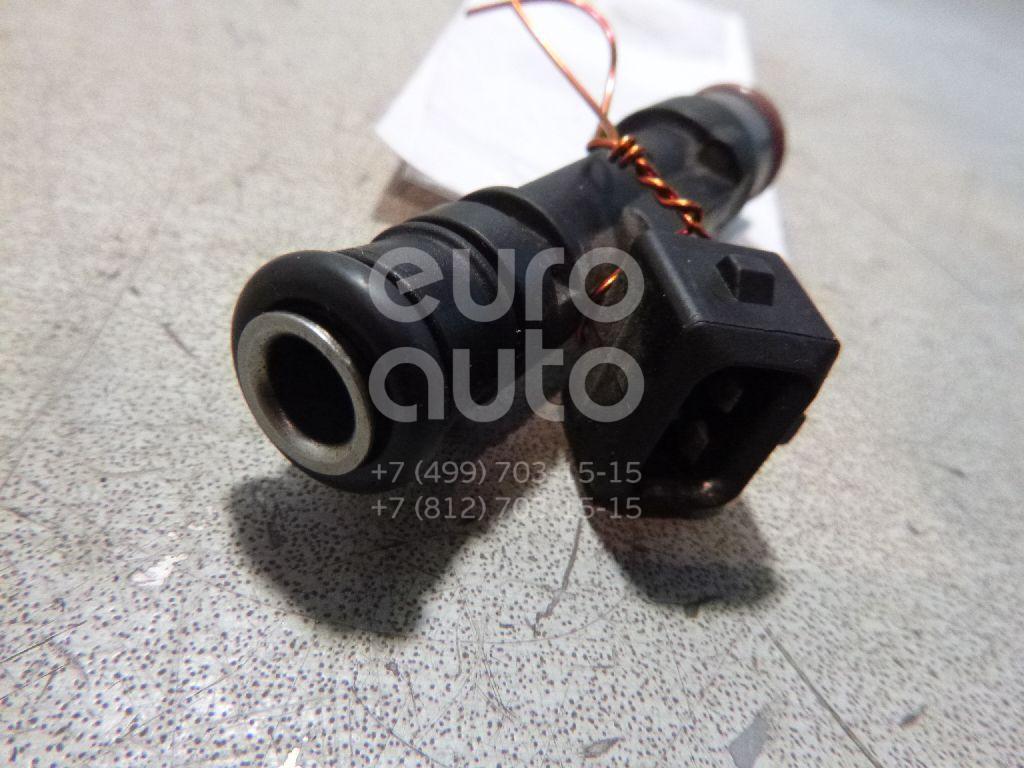 Форсунка инжекторная электрическая для Opel Corsa D 2006-2015;Astra G 1998-2005;Agila A 2000-2008;Astra H / Family 2004-2015;Meriva 2003-2010;Tigra TwinTop 2004-2009;Corsa C 2000-2006 - Фото №1