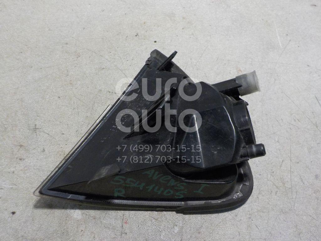 Указатель поворота правый для Toyota Avensis I 1997-2003 - Фото №1