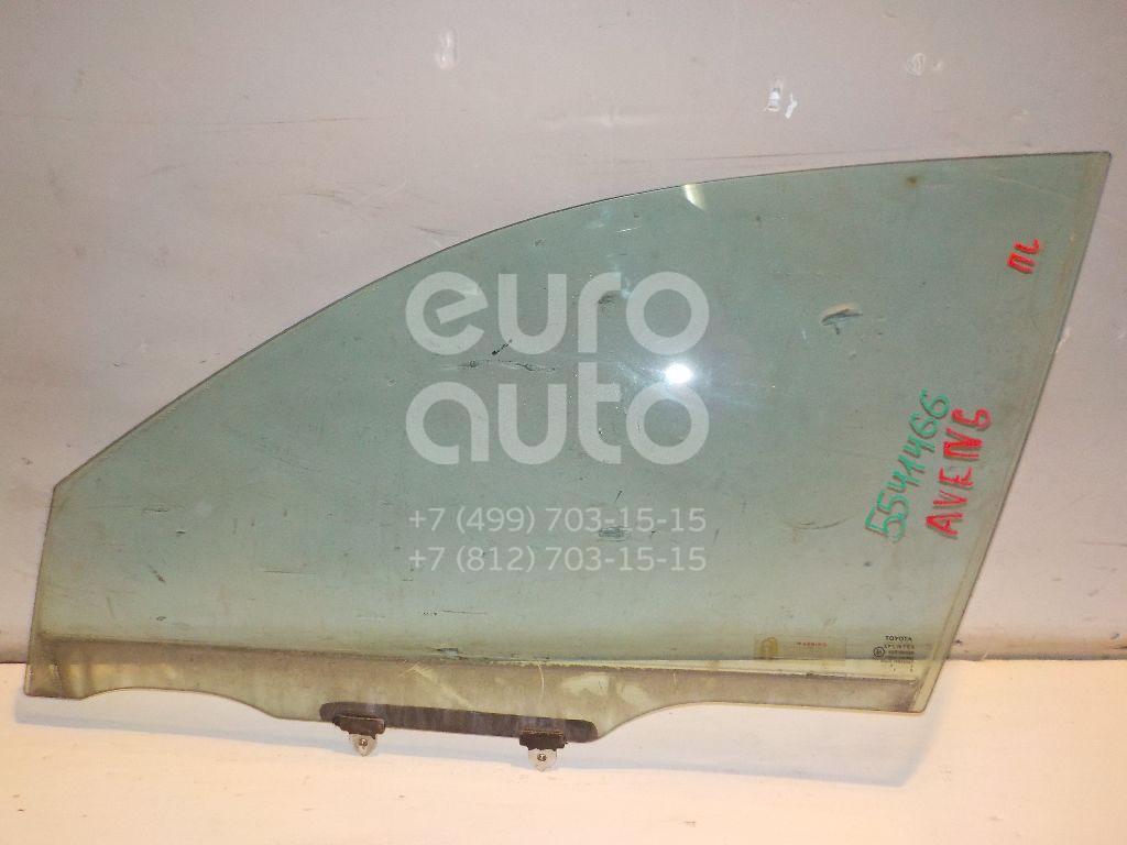 Стекло двери передней левой для Toyota Avensis I 1997-2003 - Фото №1