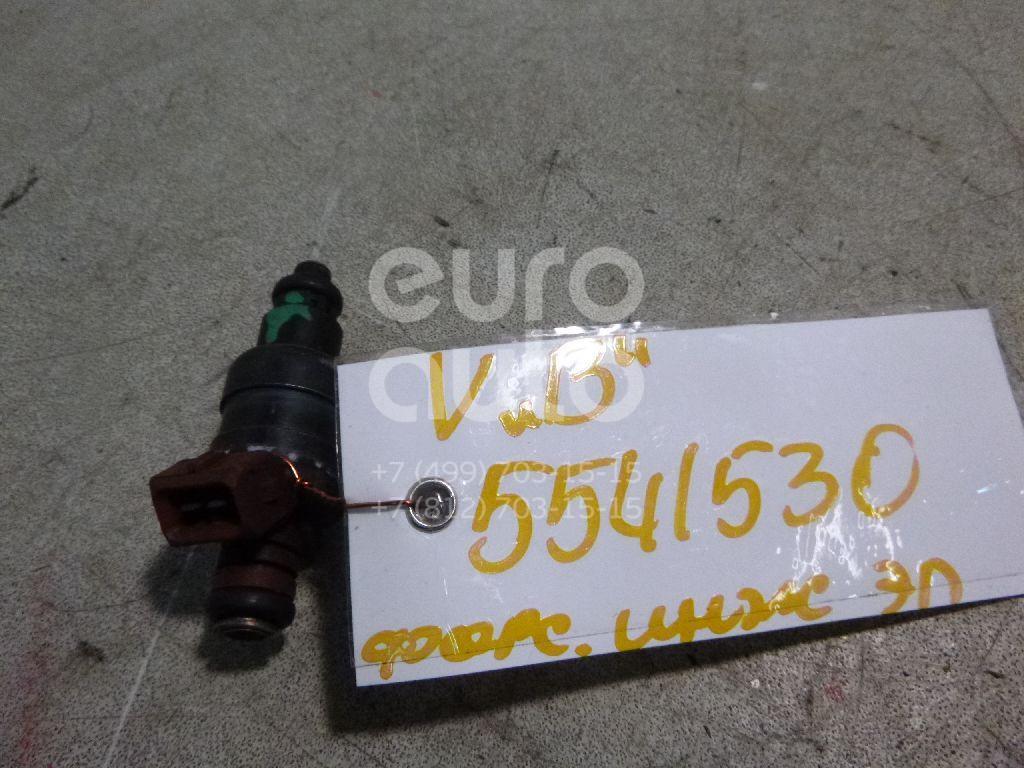 Форсунка инжекторная электрическая для Opel Vectra B 1995-1999;Astra F 1991-1998;Calibra A 1990-1997;Omega B 1994-2003;Vectra B 1999-2002 - Фото №1