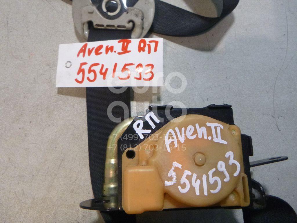 Ремень безопасности с пиропатроном для Toyota Avensis II 2003-2008 - Фото №1