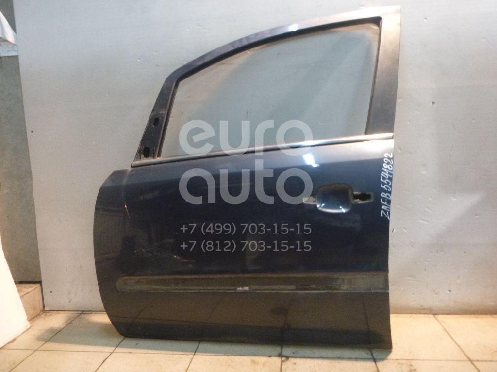 Дверь передняя левая для Opel Zafira B 2005-2012 - Фото №1