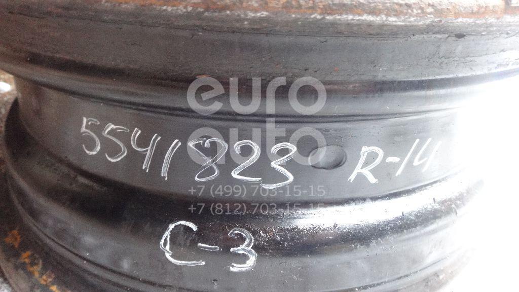 Диск колесный железо для Citroen C3 2002-2009 - Фото №1