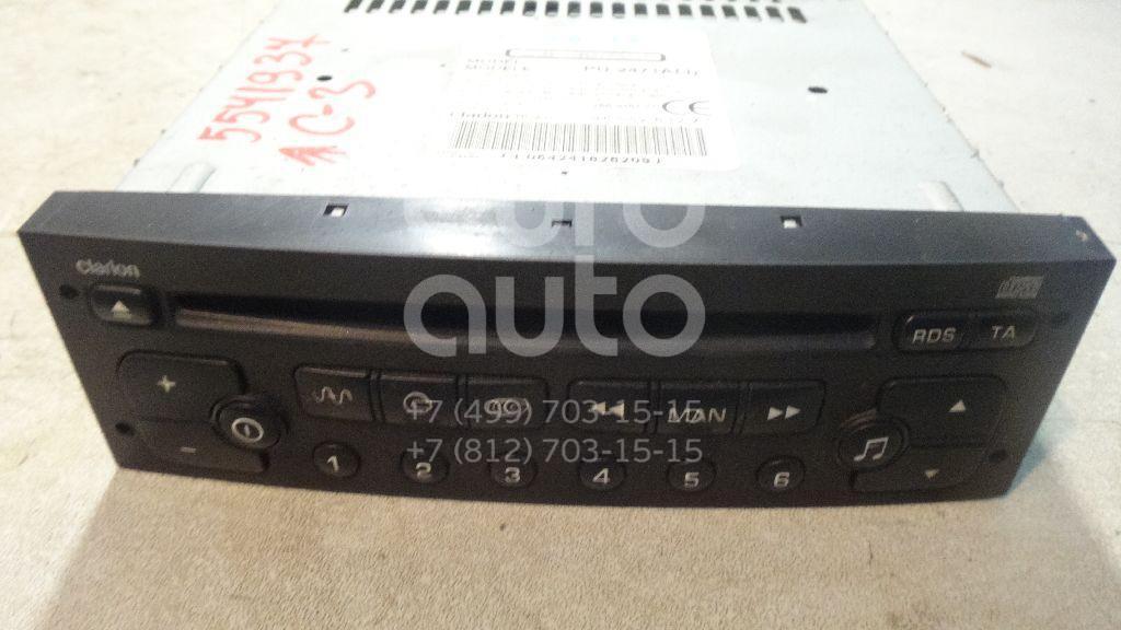 Магнитола для Citroen C3 2002-2009;307 2001-2007;206 1998> - Фото №1