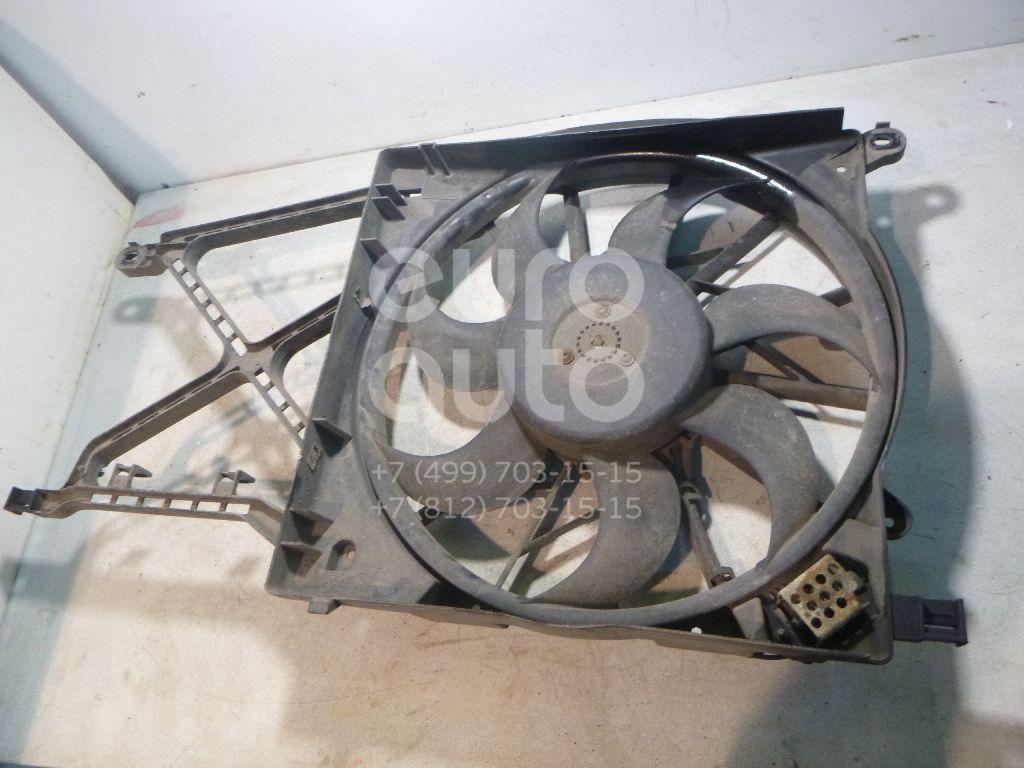 Вентилятор радиатора для Opel Zafira B 2005-2012;Astra G 1998-2005;Astra H / Family 2004-2015 - Фото №1