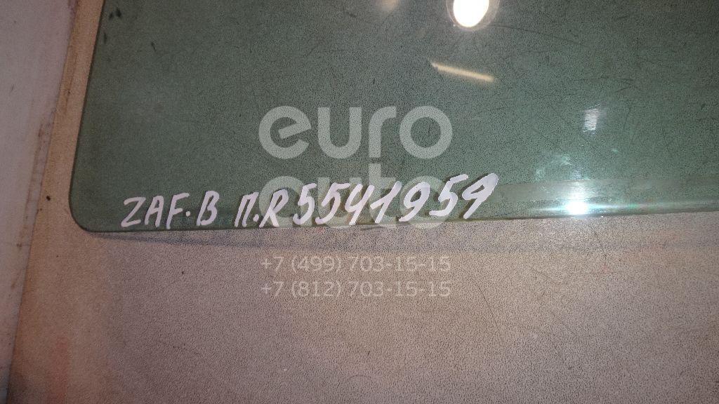 Стекло двери передней правой для Opel Zafira B 2005-2012 - Фото №1