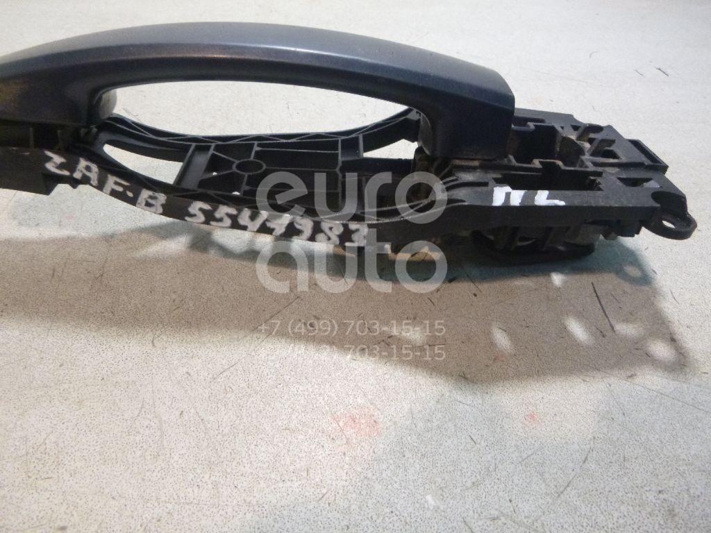 Ручка двери передней наружная левая для Opel Zafira B 2005-2012 - Фото №1