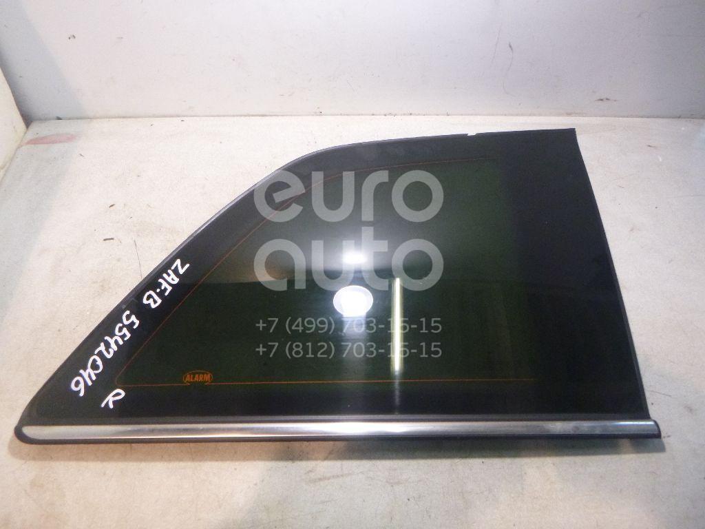 Стекло кузовное глухое правое для Opel Zafira B 2005-2012 - Фото №1