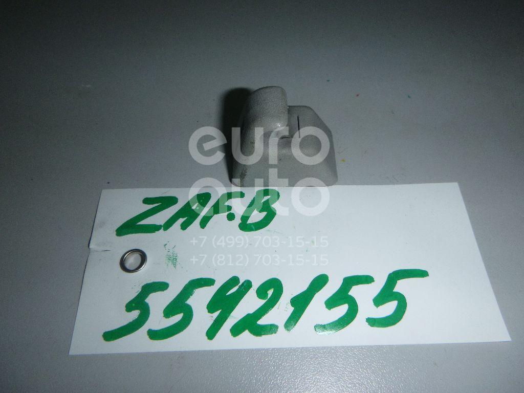 Крючок солнцезащитного козырька для Opel Zafira B 2005-2012;Astra H / Family 2004>;Signum 2003>;Vectra C 2002-2008 - Фото №1