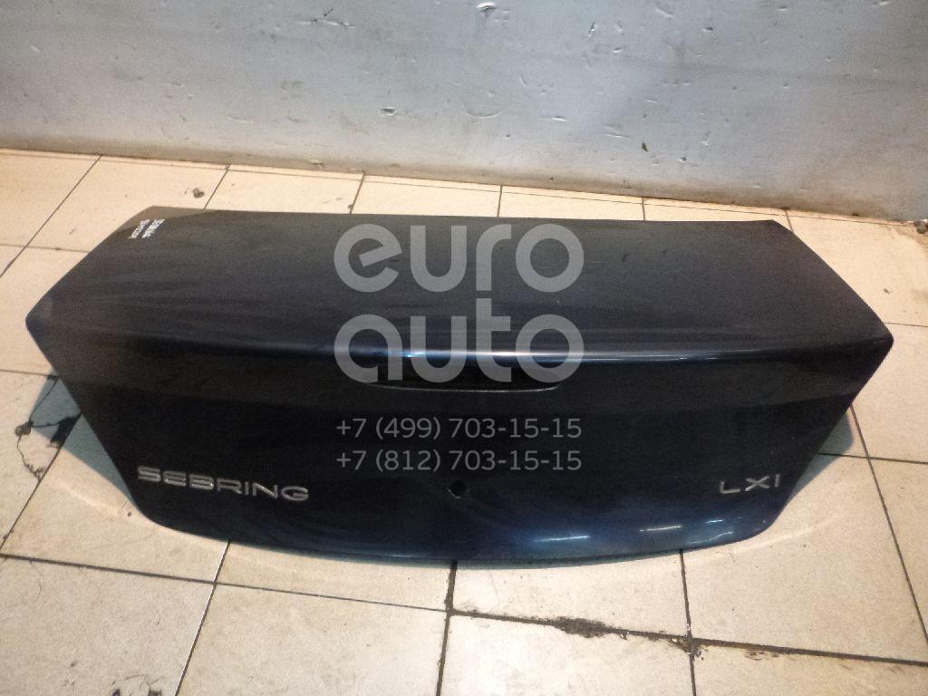 Крышка багажника для Chrysler Sebring/Dodge Stratus 2001-2007 - Фото №1