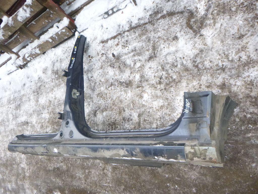 Порог со стойкой правый для Opel Zafira B 2005-2012 - Фото №1