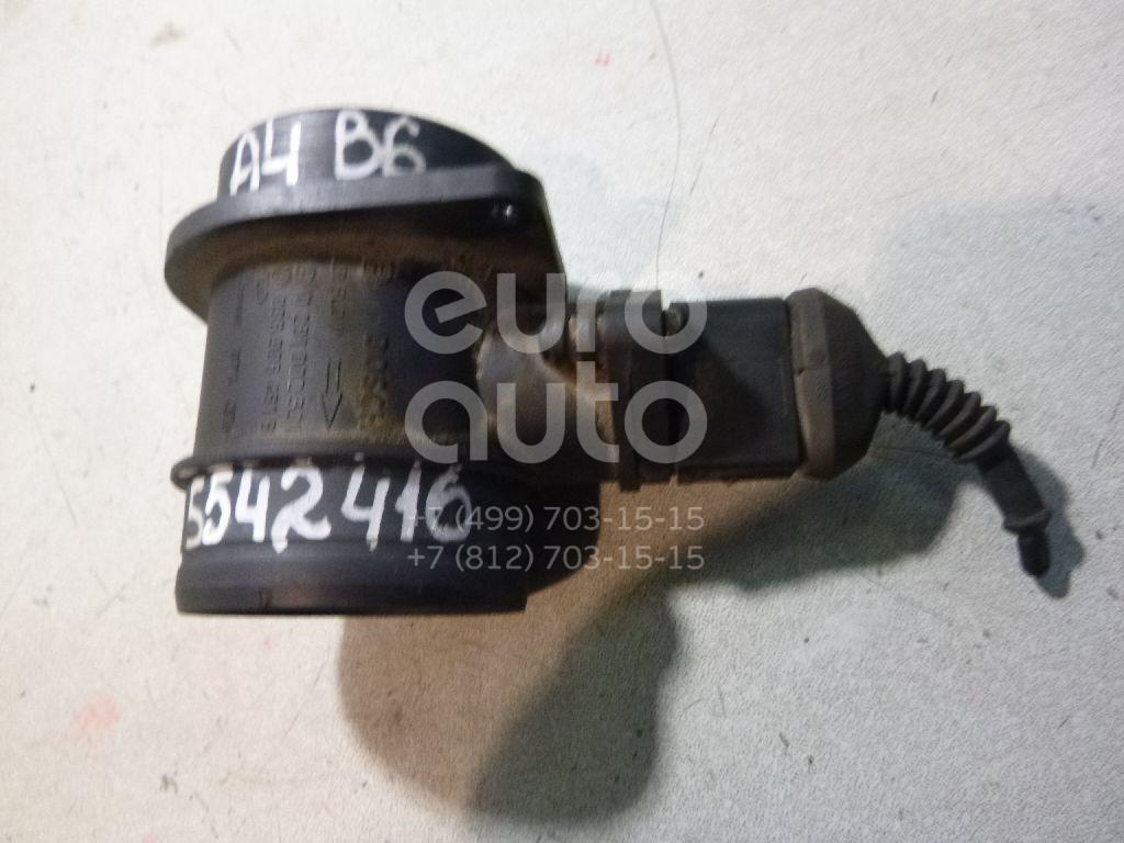 Расходомер воздуха (массметр) для Audi,Skoda,Seat A4 [B6] 2000-2004;A3 (8L1) 1996-2003;Octavia (A5 1Z-) 2004-2013;Cordoba 2003-2008;Ibiza IV 2002-2008 - Фото №1