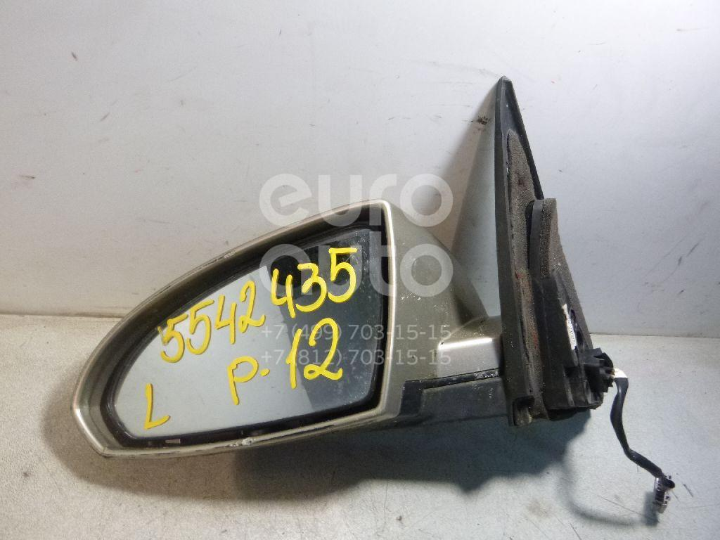 Зеркало левое электрическое для Nissan Primera P12E 2002-2007 - Фото №1
