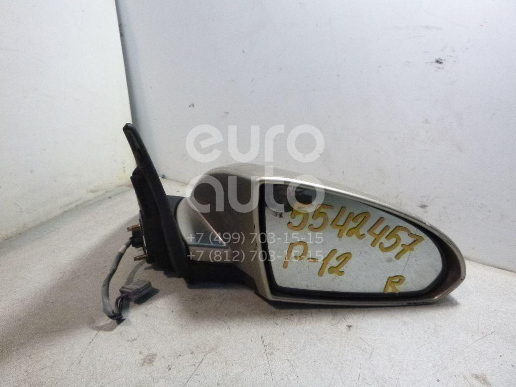Зеркало правое электрическое для Nissan Primera P12E 2002> - Фото №1