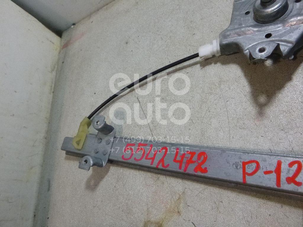 Стеклоподъемник механ. задний левый для Nissan Primera P12E 2002-2007 - Фото №1