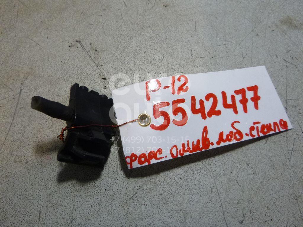 Форсунка омывателя лобового стекла для Nissan Primera P12E 2002-2007 - Фото №1