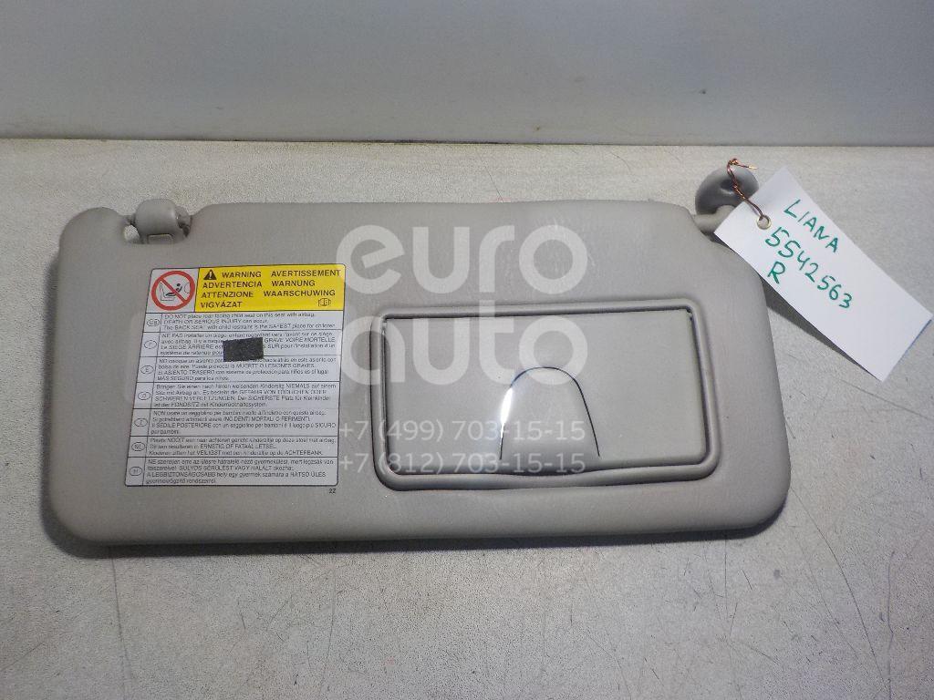 Козырек солнцезащитный (внутри) для Suzuki Liana 2001-2007 - Фото №1