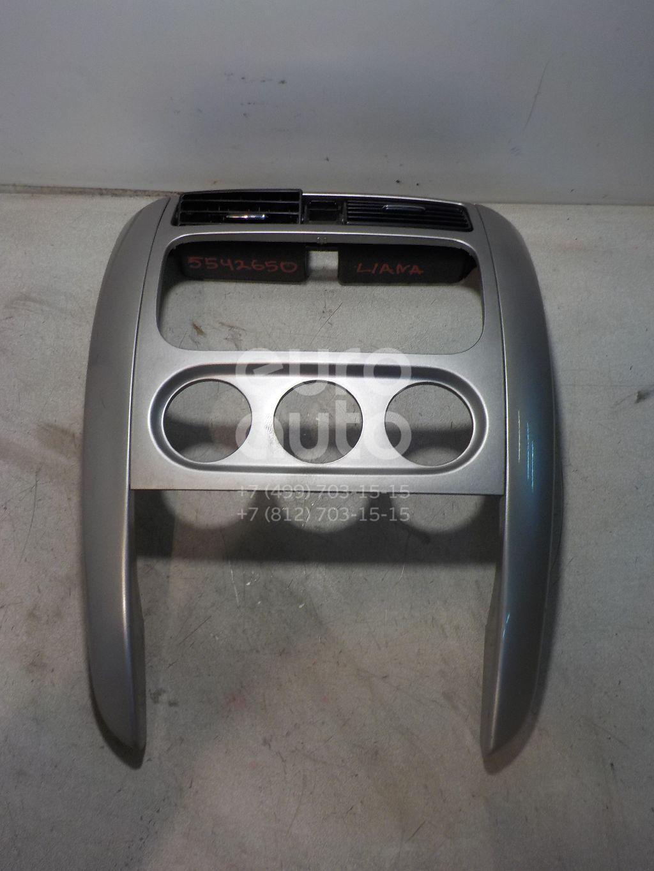 Рамка магнитолы для Suzuki Liana 2001-2007 - Фото №1