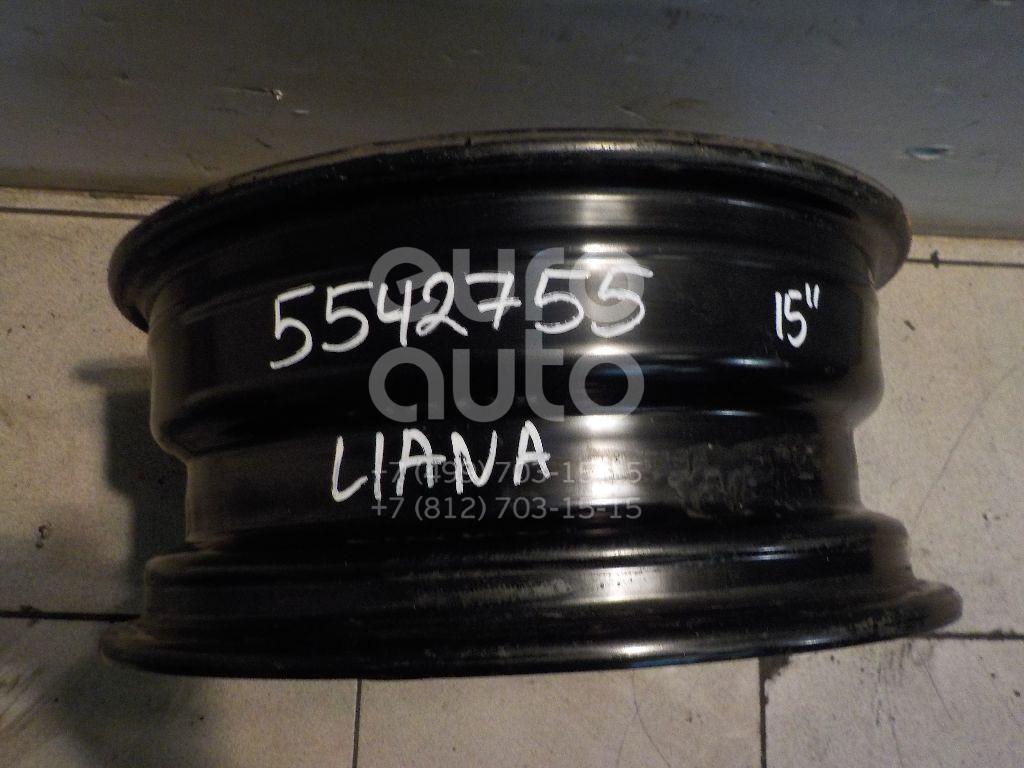 Диск колесный железо для Suzuki Liana 2001-2007 - Фото №1