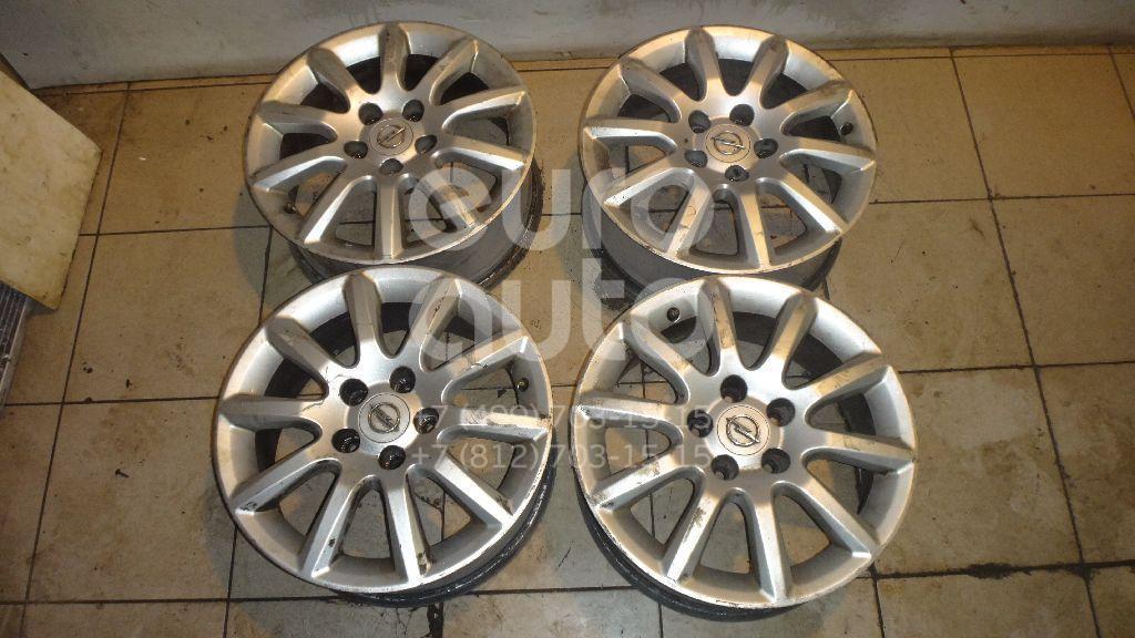 Диски колесные легкосплавные (к-кт) для Opel Zafira B 2005-2012 - Фото №1