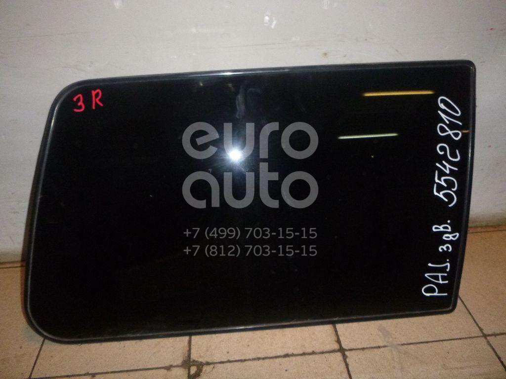 Стекло кузовное глухое правое для Mitsubishi Pajero/Montero II (V1, V2, V3, V4) 1997-2004 - Фото №1
