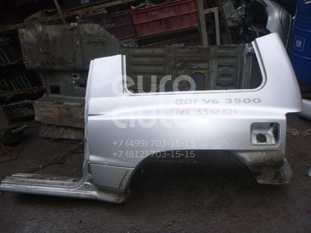 Крыло заднее левое для Mitsubishi Pajero/Montero (V1, V2, V3, V4) 1997-2004 - Фото №1