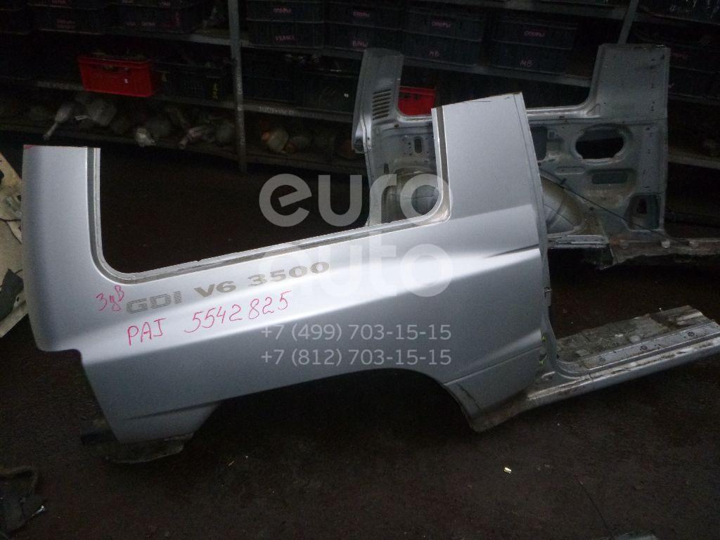 Крыло заднее правое для Mitsubishi Pajero/Montero (V1, V2, V3, V4) 1997-2004 - Фото №1