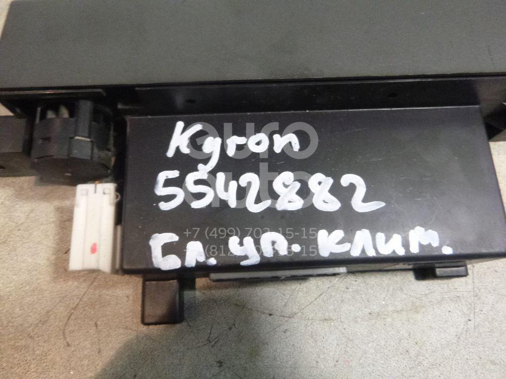 Блок управления климатической установкой для Ssang Yong Kyron 2005> - Фото №1