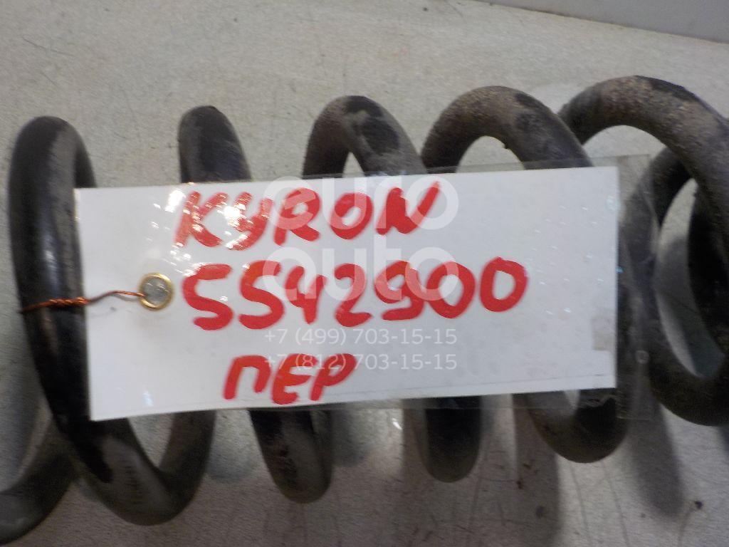 Пружина передняя для Ssang Yong Kyron 2005>;Rexton II 2007- 2012;Actyon Sport 2006-2012 - Фото №1