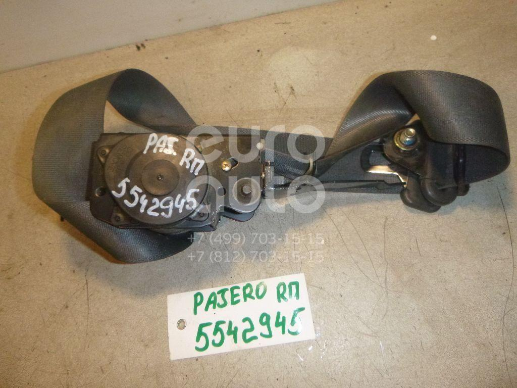 Ремень безопасности для Mitsubishi Pajero/Montero (V1, V2, V3, V4) 1997-2004;Pajero/Montero (V1, V2, V3, V4) 1991-1996 - Фото №1
