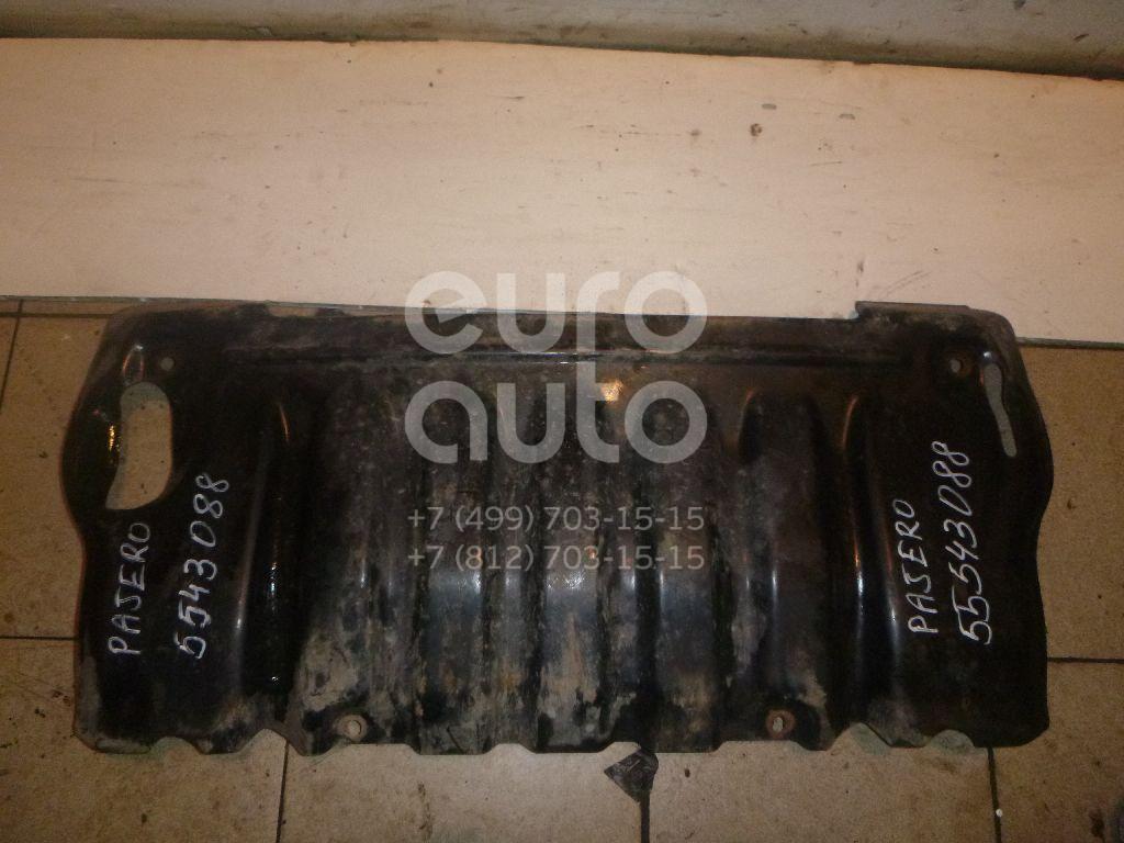 Защита картера для Mitsubishi Pajero/Montero II (V1, V2, V3, V4) 1997-2004 - Фото №1