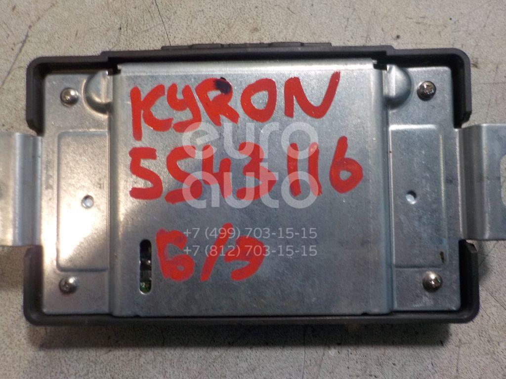 Блок электронный для Ssang Yong Kyron 2005>;Rexton I 2001-2007;Actyon Sport 2006-2012 - Фото №1