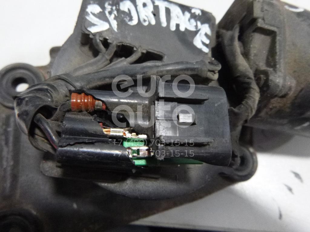 Моторчик стеклоочистителя передний для Kia Sportage 1993-2006 - Фото №1