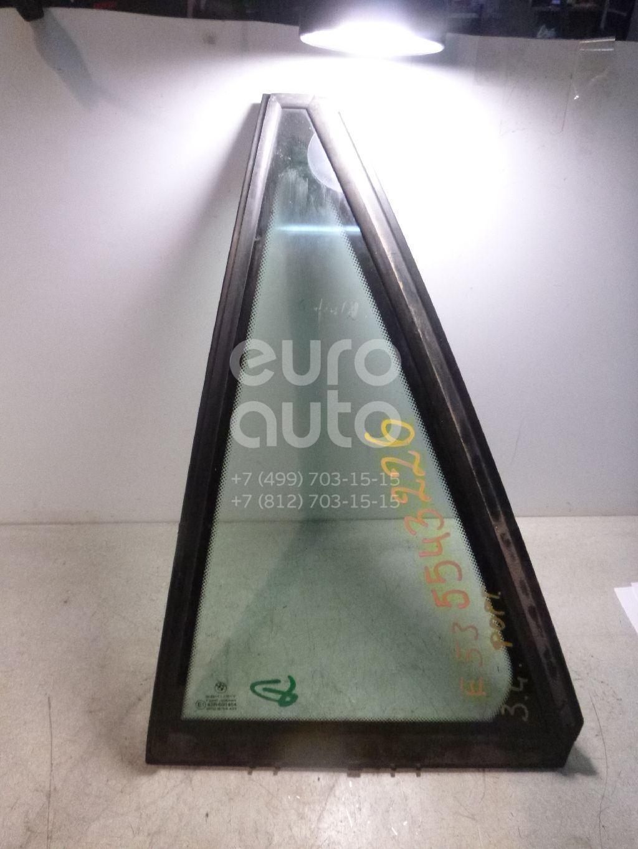 Стекло двери задней левой (форточка) для BMW X5 E53 2000-2007 - Фото №1