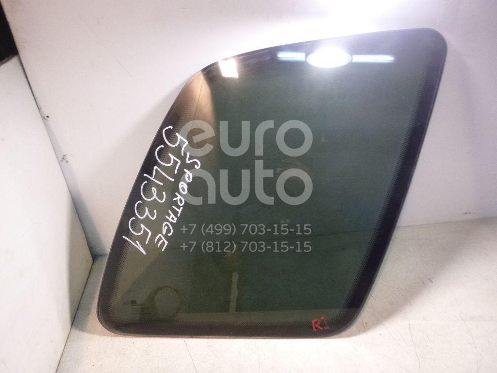 Стекло кузовное глухое правое для Kia Sportage 1994-2004 - Фото №1