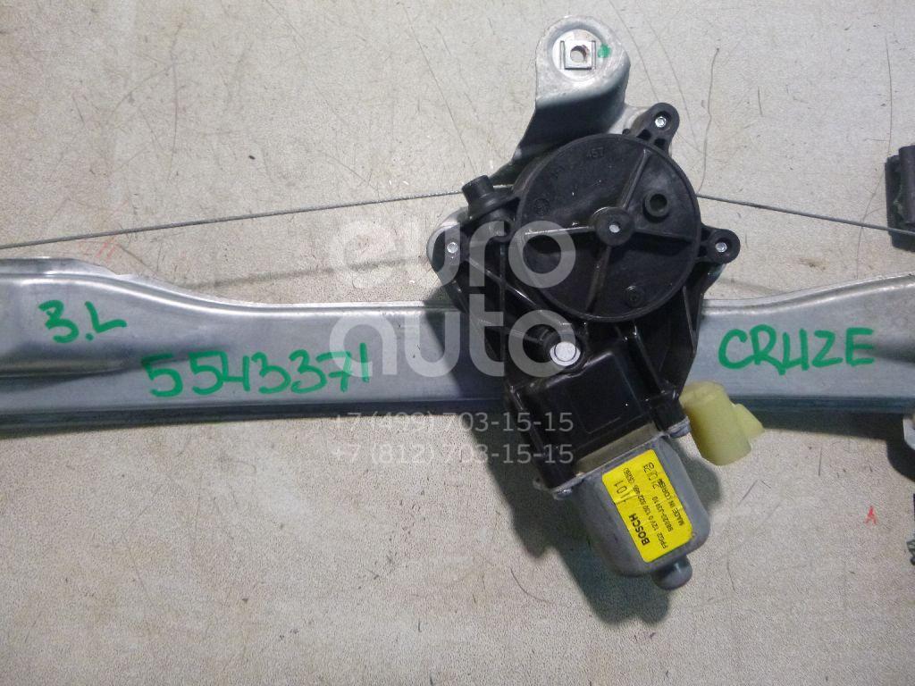 Стеклоподъемник электр. задний левый для Chevrolet Cruze 2009> - Фото №1