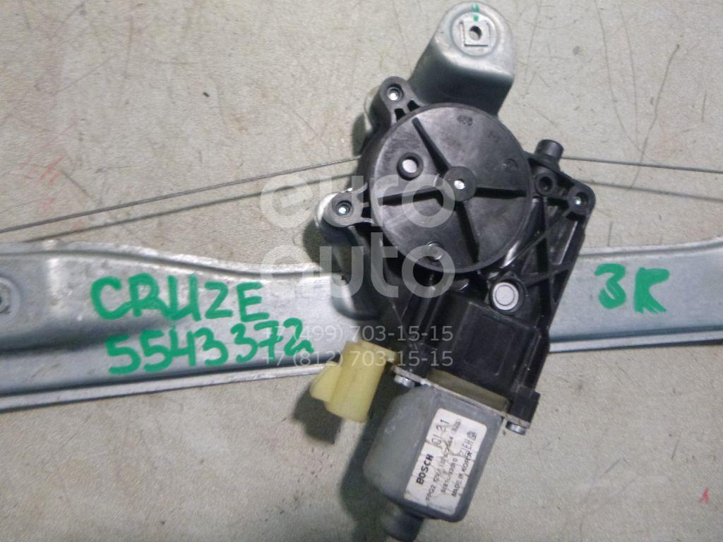 Стеклоподъемник электр. задний правый для Chevrolet Cruze 2009-2016 - Фото №1