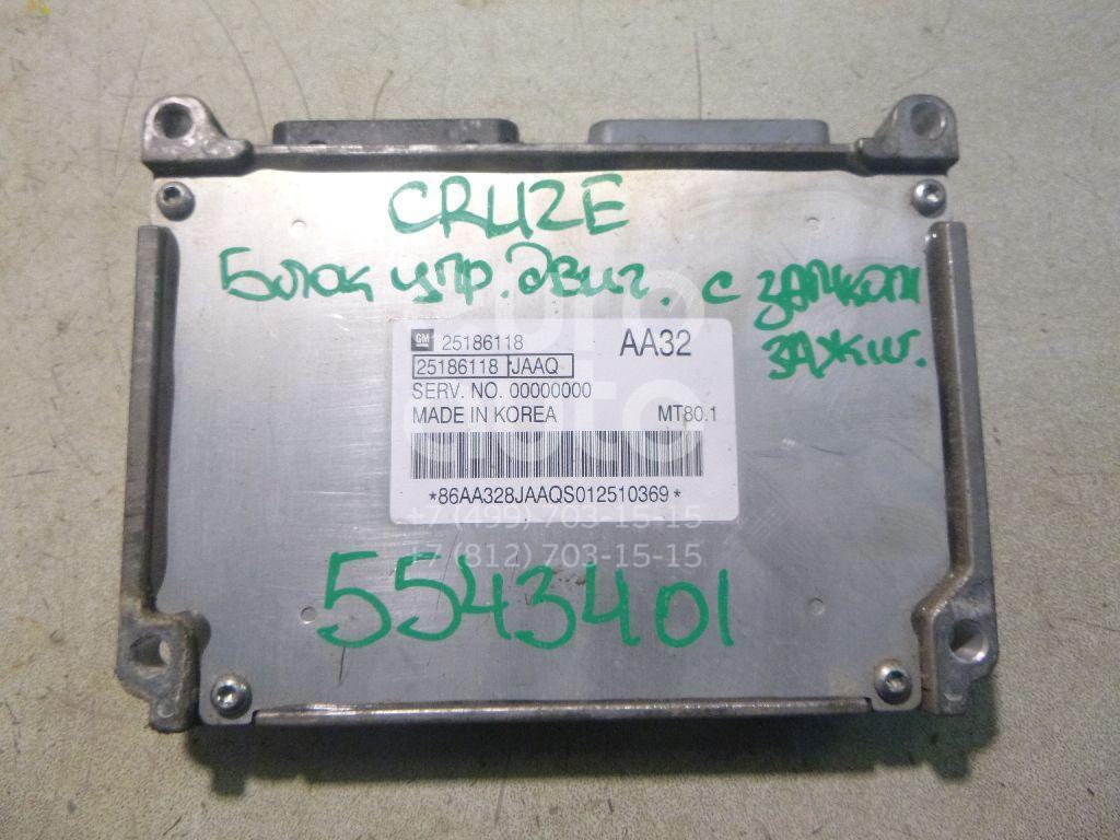 Блок управления двигателем для Chevrolet Cruze 2009> - Фото №1