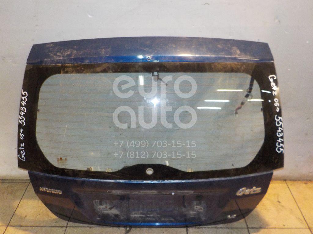 Дверь багажника со стеклом для Hyundai Getz 2002-2010 - Фото №1