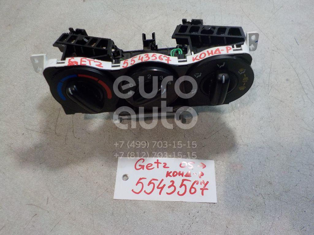 Блок управления отопителем для Hyundai Getz 2002-2010 - Фото №1