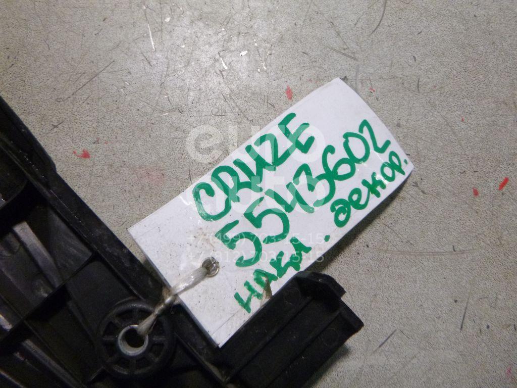 Накладка декоративная для Chevrolet Cruze 2009>;Lacetti 2003> - Фото №1