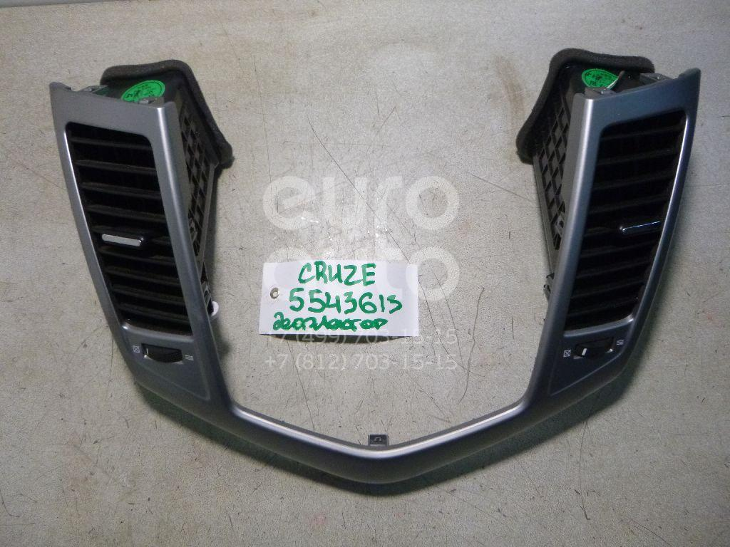 Дефлектор воздушный для Chevrolet Cruze 2009-2016 - Фото №1