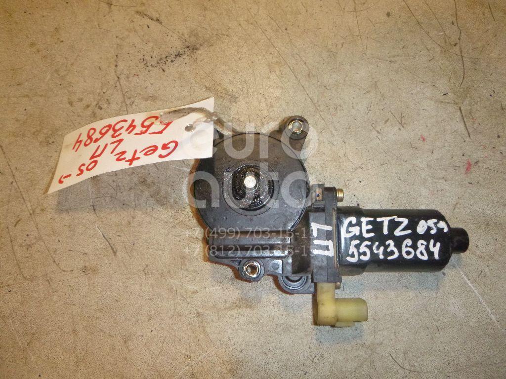 Моторчик стеклоподъемника для Hyundai Getz 2002-2010 - Фото №1