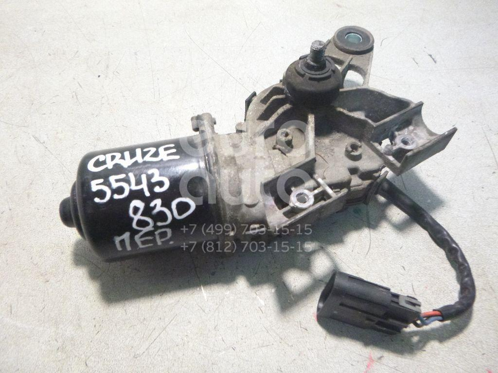 Моторчик стеклоочистителя передний для Chevrolet Cruze 2009-2016 - Фото №1