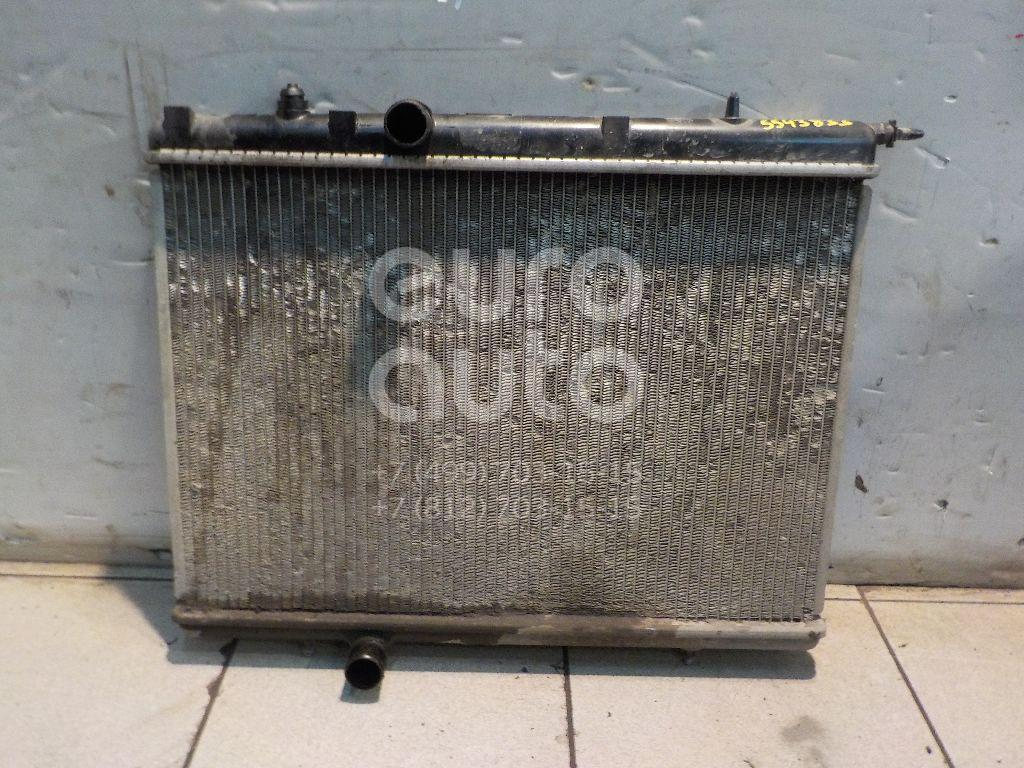 Радиатор основной для Peugeot,Citroen 206 1998-2012;C4 2005-2011;Xsara 2000-2005;Xsara 1997-2000;307 2001-2007;Xsara Picasso 1999-2010;Berlingo(FIRST) (M59) 2002-2012;Partner (M59) 2002-2010 - Фото №1