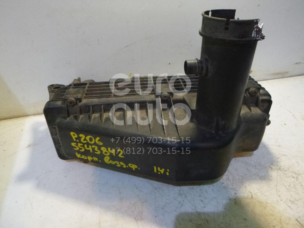 Корпус воздушного фильтра для Peugeot 206 1998-2012 - Фото №1