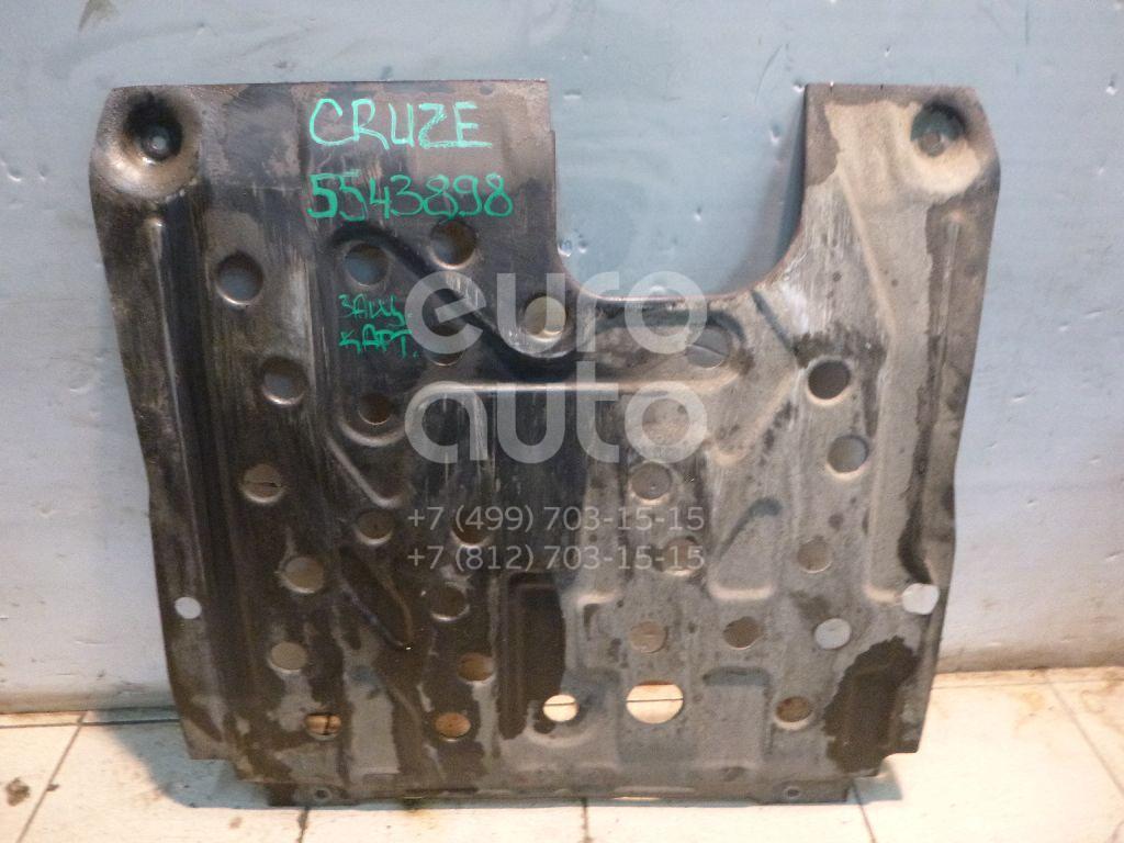 Защита картера для Chevrolet Cruze 2009>;Astra J 2010>;Orlando 2011> - Фото №1
