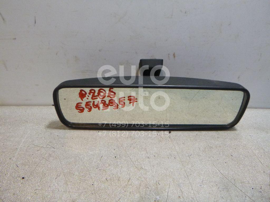 Зеркало заднего вида для Peugeot 206 1998>;C1 2005>;306 1993-2003;207 2006>;Berlingo 1996-2002;Partner 1996-2002;107 2006> - Фото №1