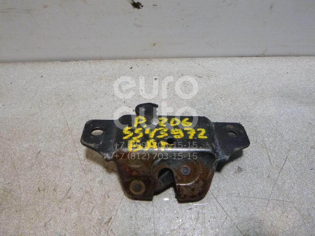 Замок багажника для Peugeot 206 1998>;Berlingo 1996-2002;Partner 1996-2002;Berlingo(FIRST) (M59) 2002-2010;Partner (M59) 2002-2010 - Фото №1