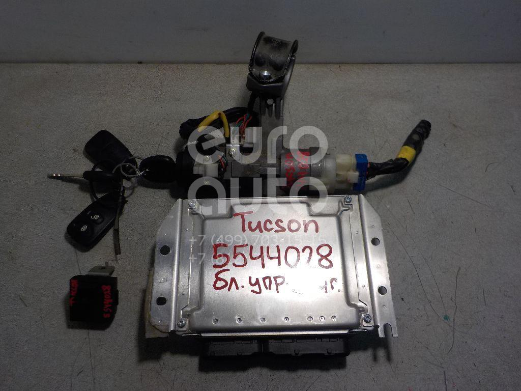 Блок управления двигателем для Hyundai Tucson 2004-2010 - Фото №1